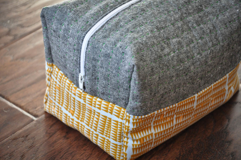 boxy cosmetic bag tutorial (3 of 1)